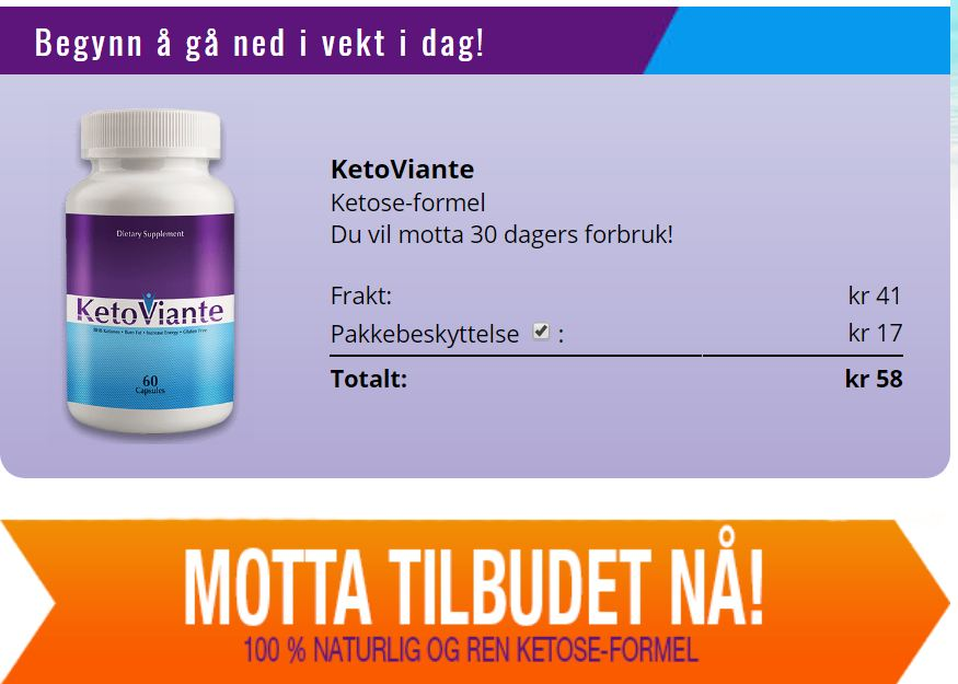 ketoviante norway price