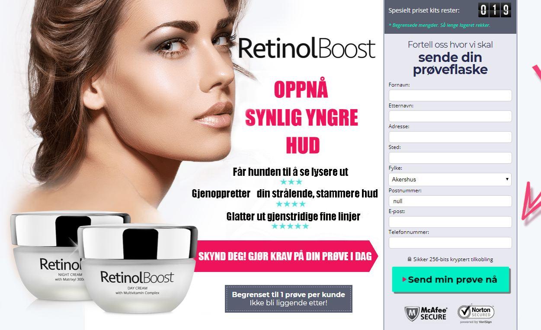 retinol boost norge
